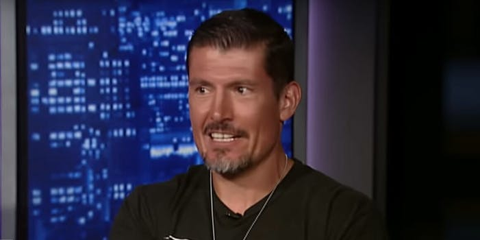 Kris Paronto gets suspended from Twitter for hate speech against liberals and former president Obama.