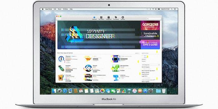 macbook air mac store glitch