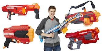 mega nerf gun