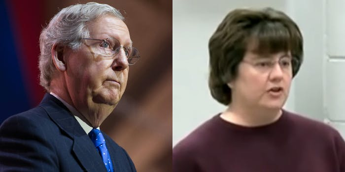 mitch mcconnell and rachel mitchell
