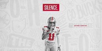 Ohio State football silence tweet