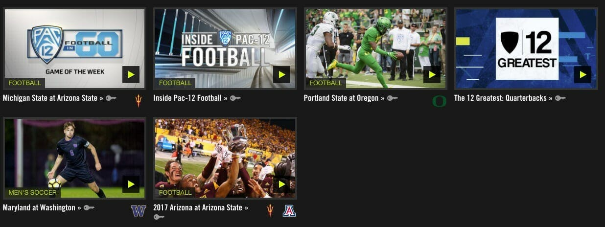 pac-12 network streaming