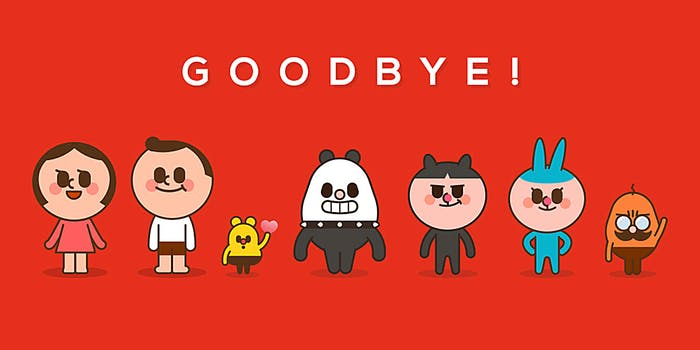 path app characters goodbye post