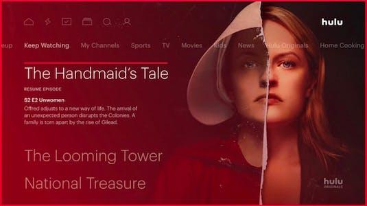 The Handmaid's Tale is a popular Hulu show streaming on Roku