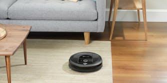 Roomba i7 pn living room rug