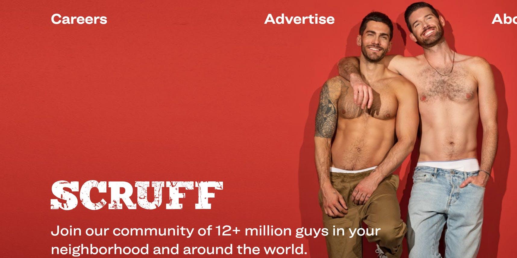 gay dating website : scruff