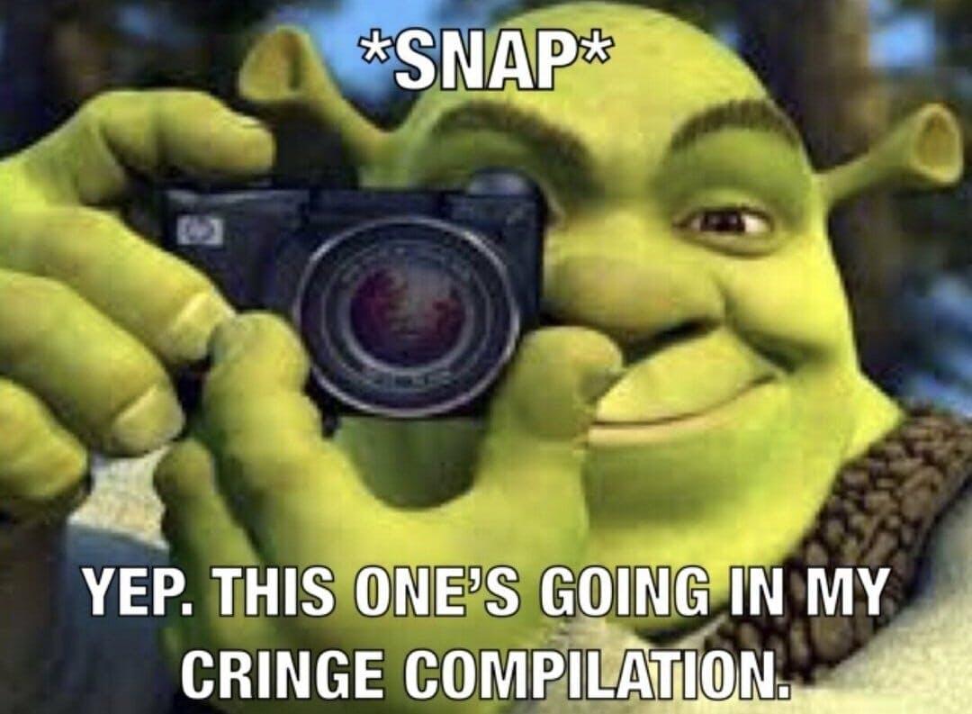 shrek cringe compilation