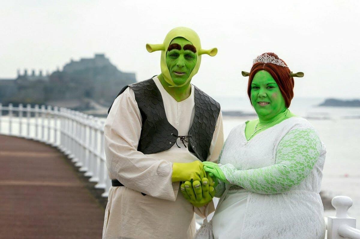 shrek fiona wedding 1
