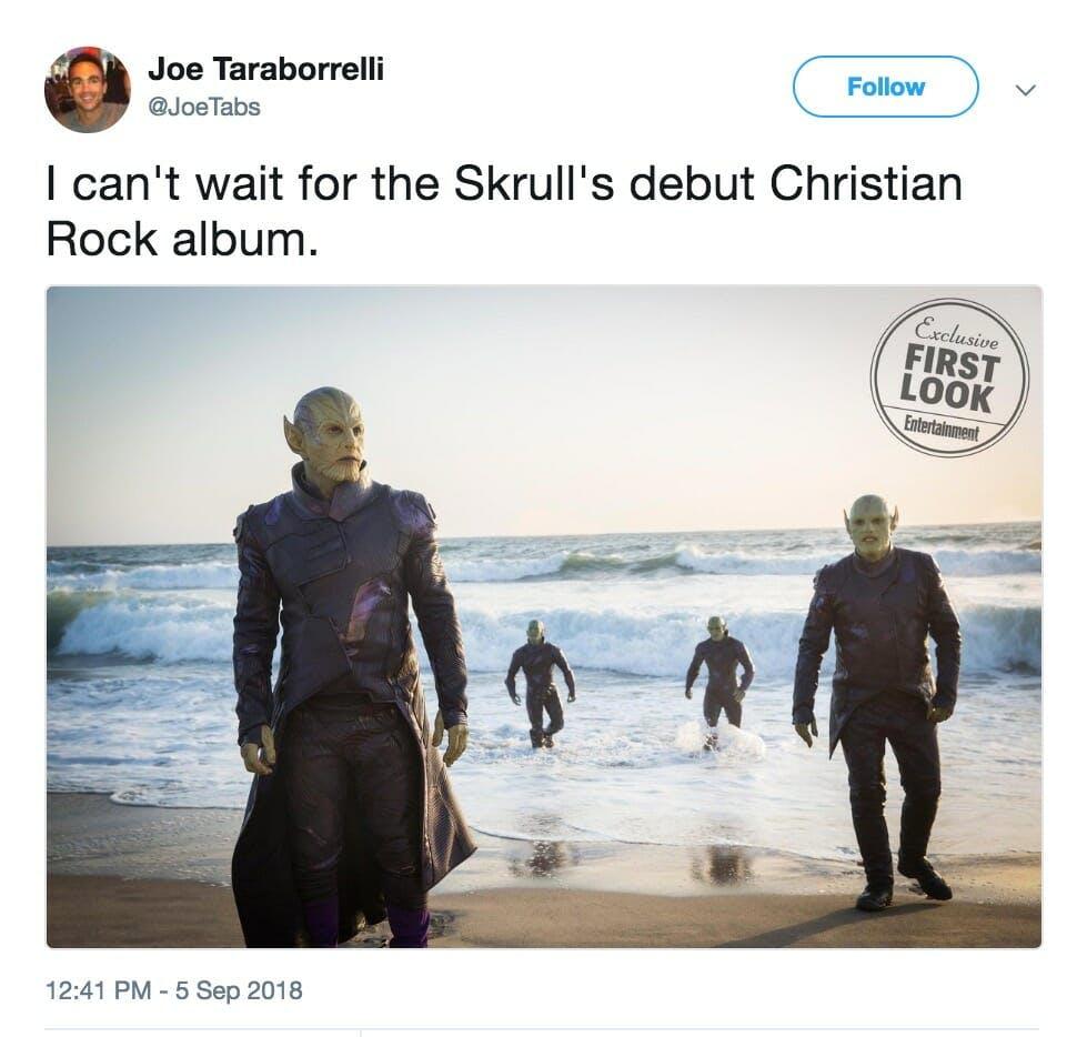 skrull captain marvel