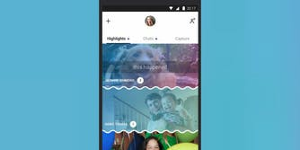 Snapchat-like features on Skype app on iOS