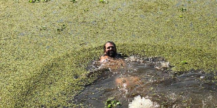 trump jr swamp