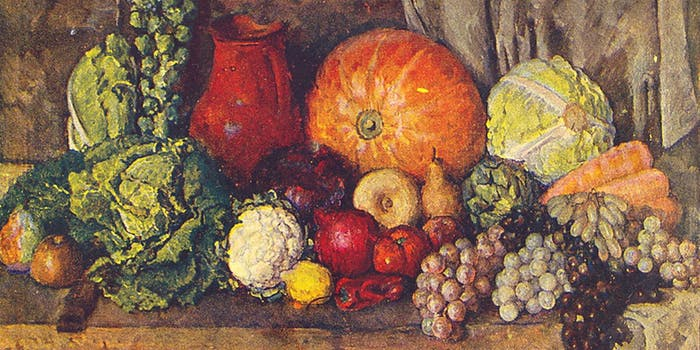 vegetables Ilya Mashkov
