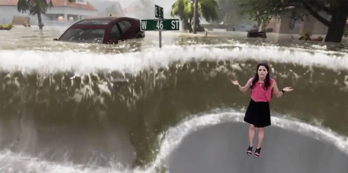 weather channel hurricane florence