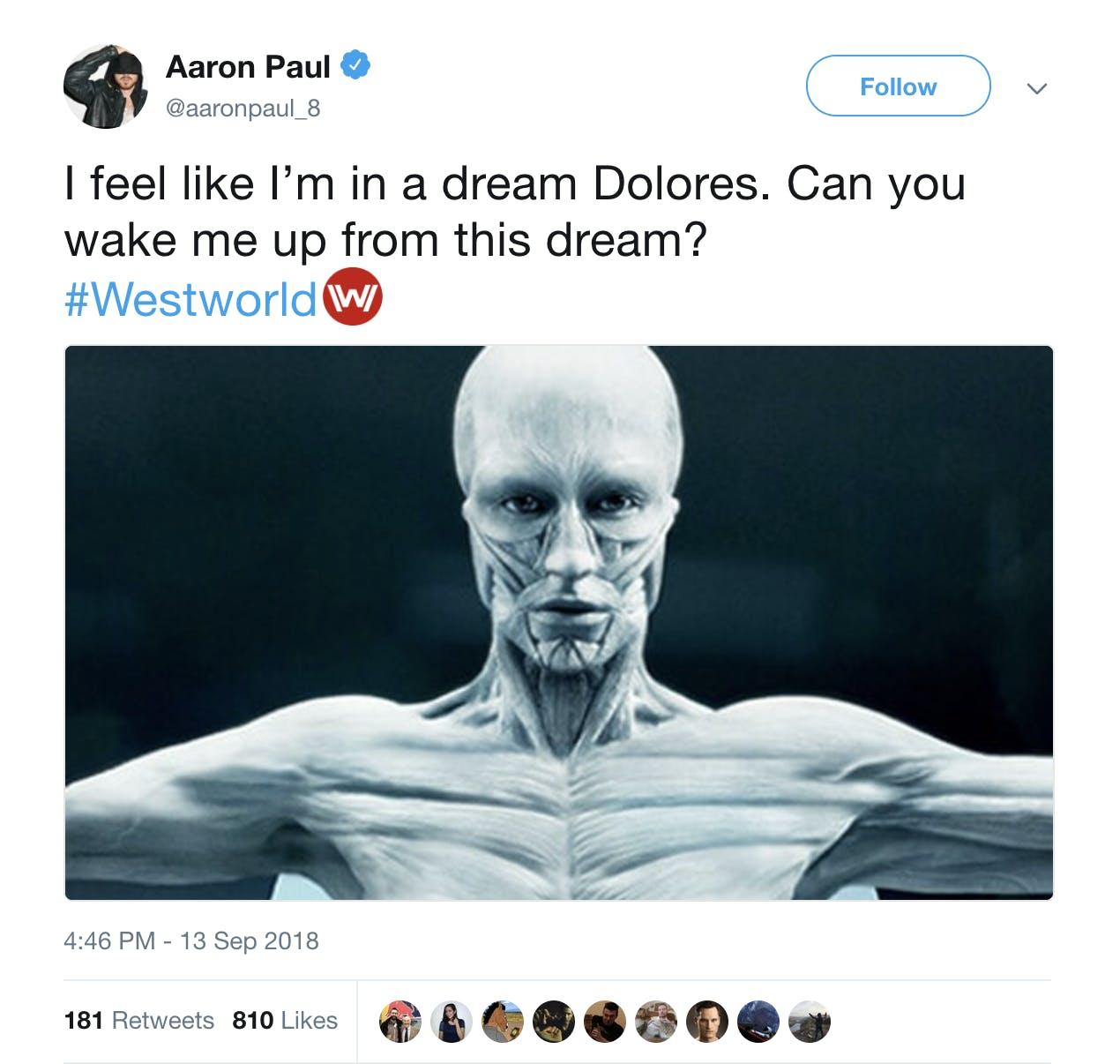 westworld season 3 - aaron paul