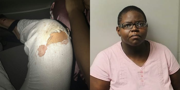 woman jumps out car window to escape uber driver