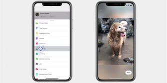 3D photos on Facebook on iPhone XS