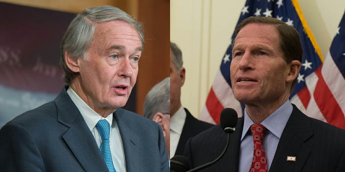 Sen. Edward Markey (D-Mass.), Sen. Richard Blumenthal (D-Conn.), and Sen. Brian Schatz (D-Hawaii) wrote a letter to the FCC Inspector General to investigate the fake net neutrality comments left on the agency's website.
