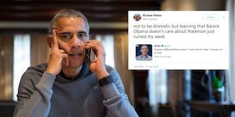 President Barack Obama said he doesn't like Pokemon, causing the internet to stir.