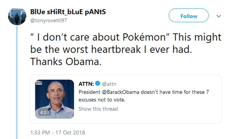 Pokemon Obama