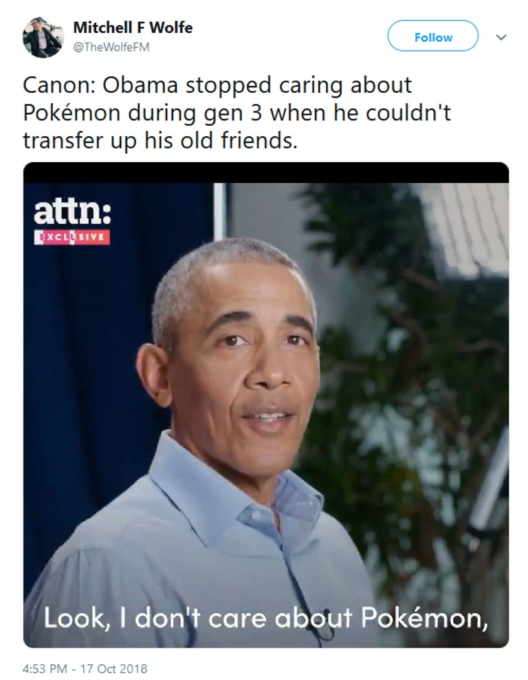 Obama Pokemon