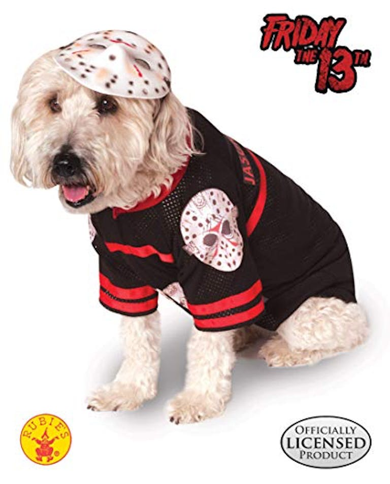 Pet costume Friday the 13th