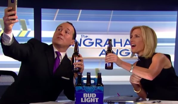 Laura Ingraham Fox News beer