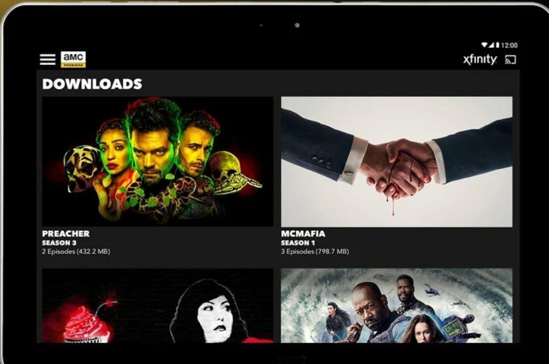 amc premiere download shows