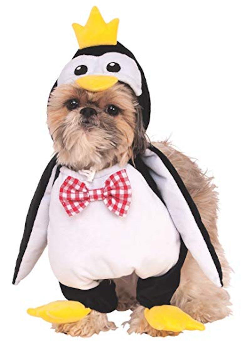 dog costume penguin