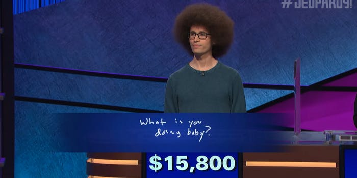 doing baby jeopardy meme