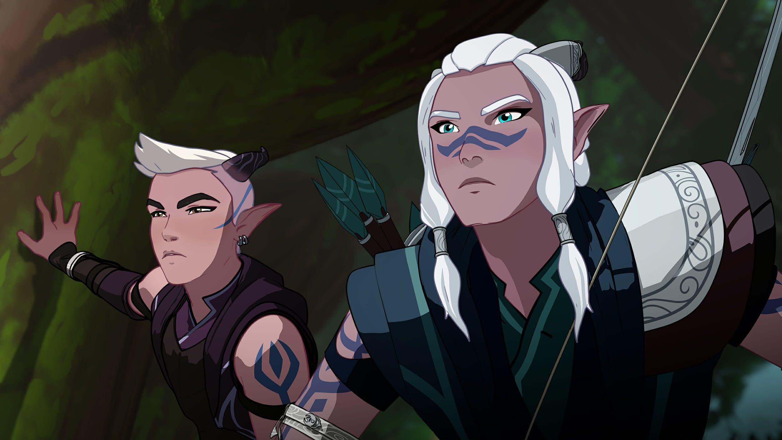 dragon prince elves