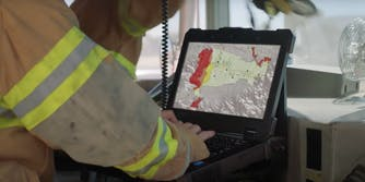 Firefighters using Verizon data for laptop
