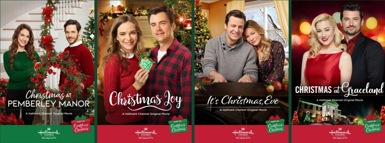 hallmark countdown to christmas schedule