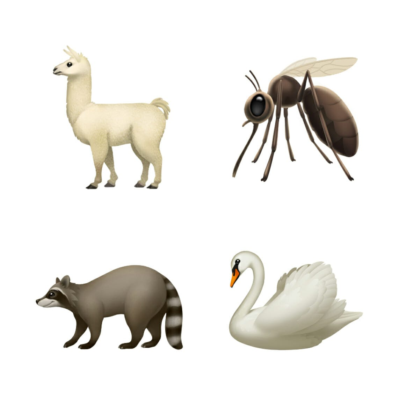 iOS 12.1's update includes new animal emoji