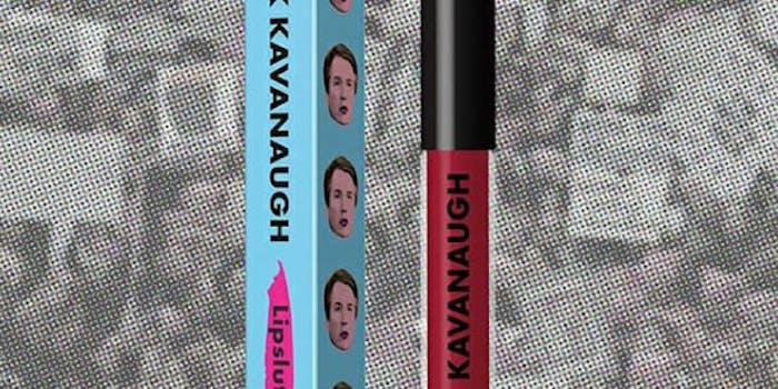 Lipslut debuts 'F*ck Kavanaugh' lipstick.