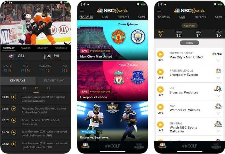 nbc sports nhl schedule