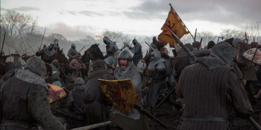 Netflix Outlaw King review