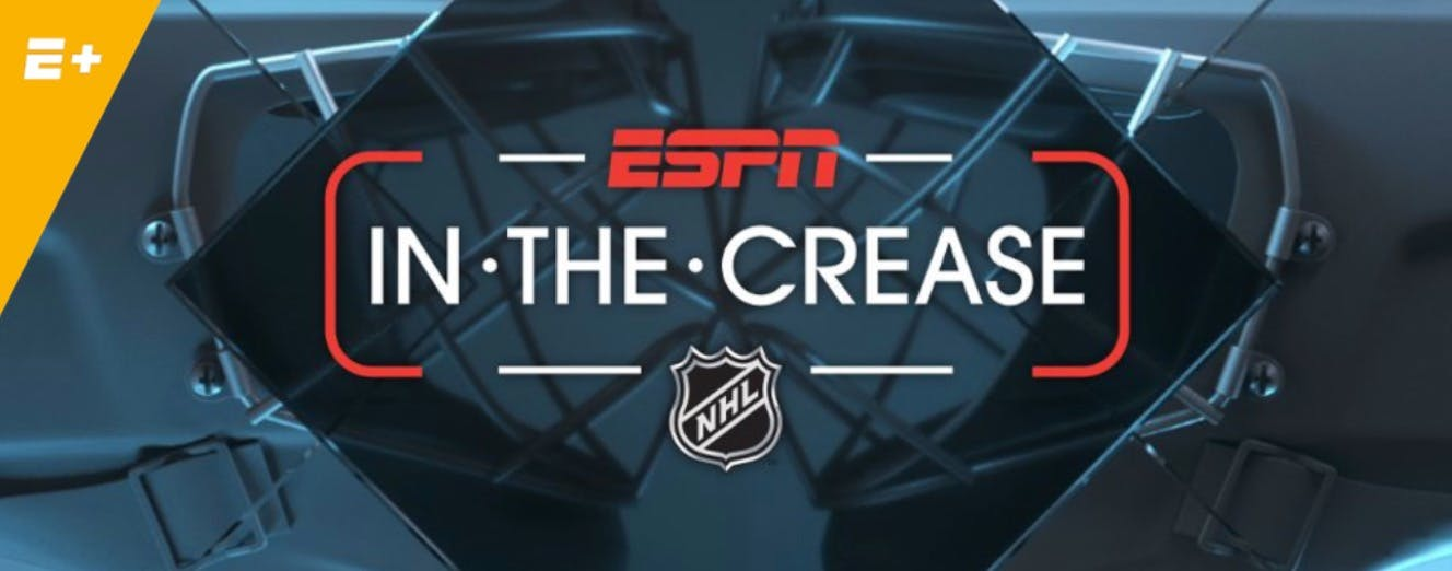 nhl espn+ in the crease