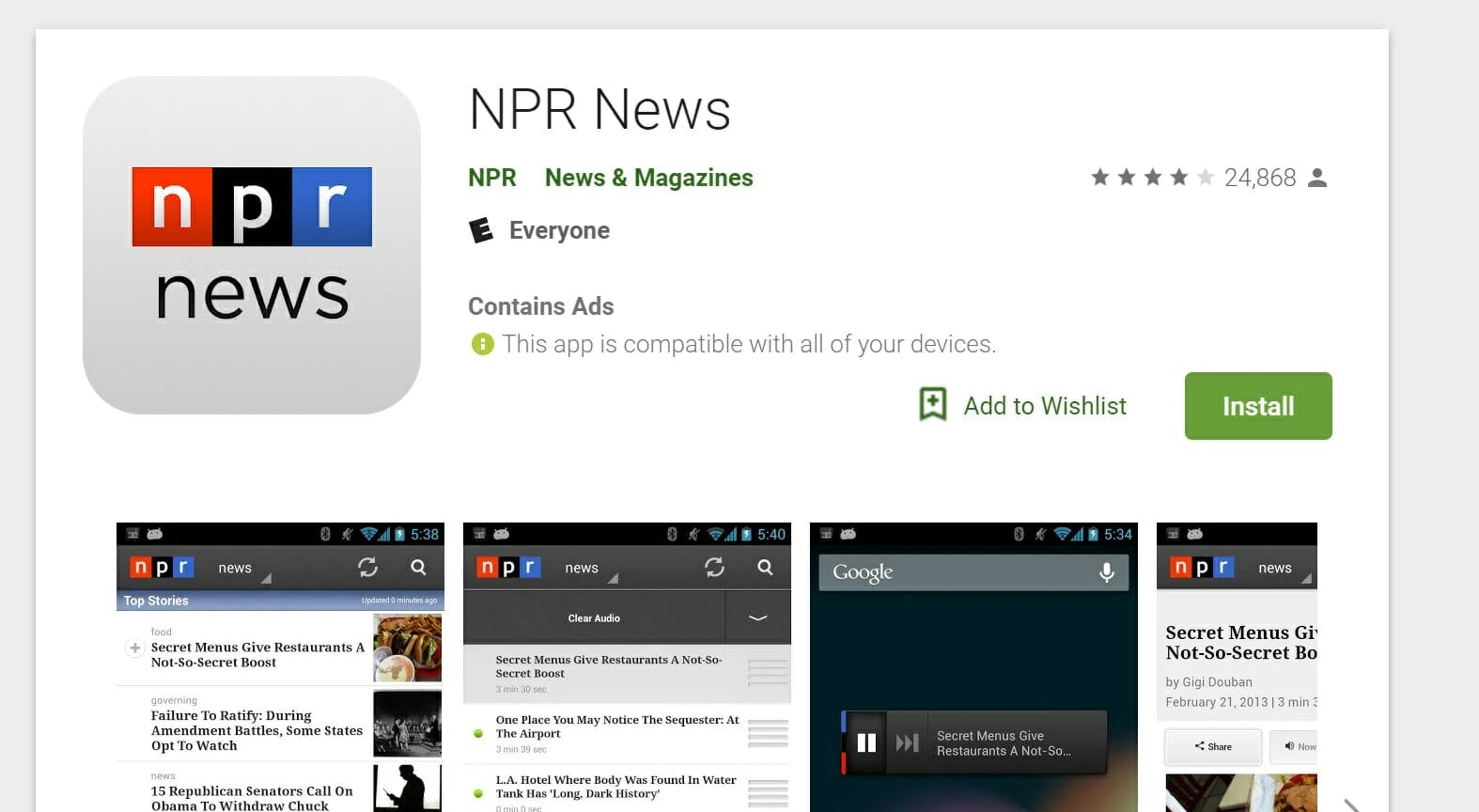 npr live stream npr news