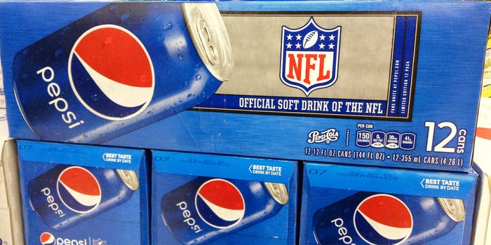 pepsi official drink of the nfl