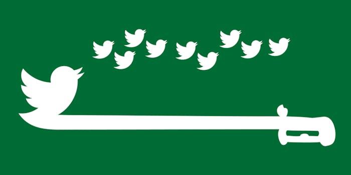saudi flag twitter bird