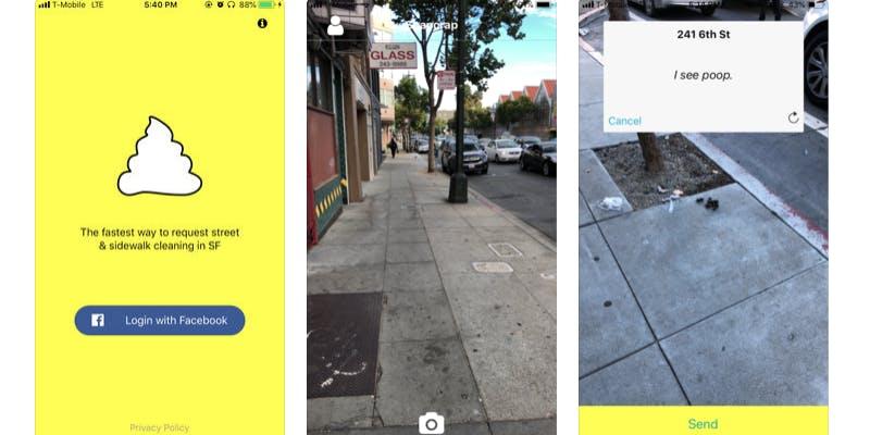 Snapcrap app screenshots