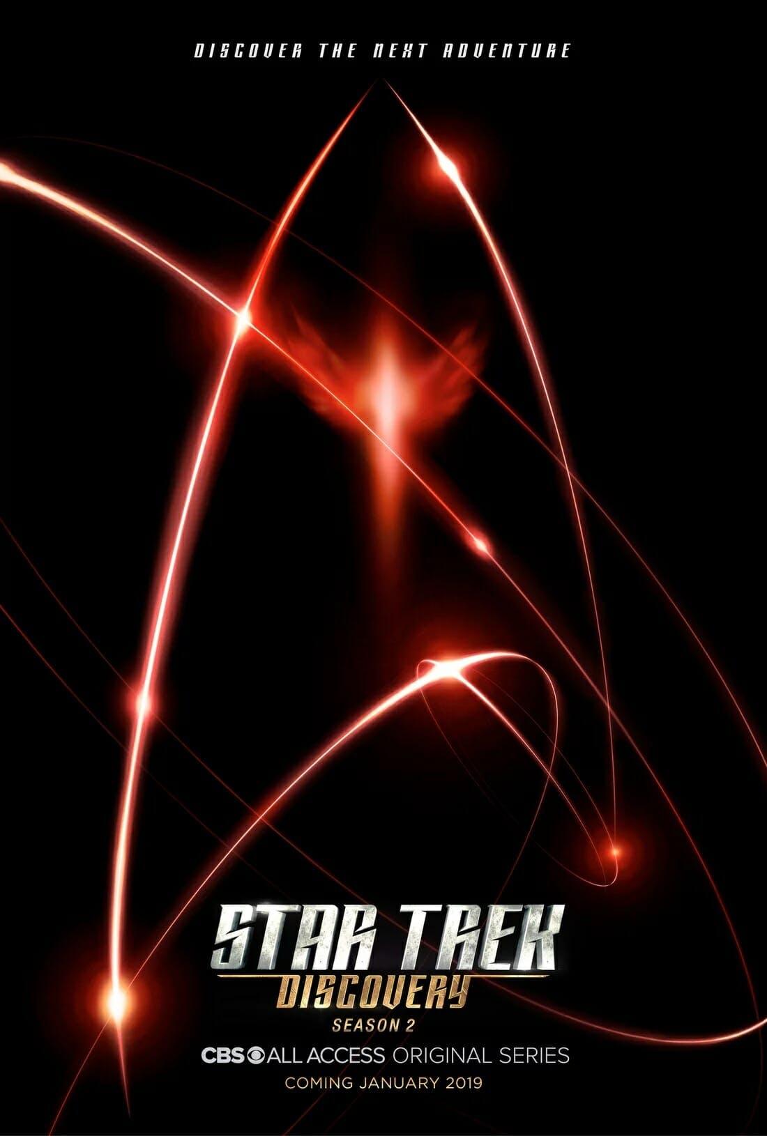 star trek discovery season 2 release date poster