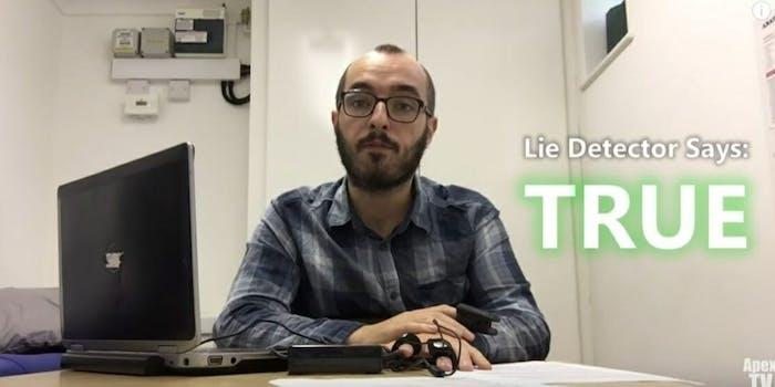 Time Traveler lie detector test 8973