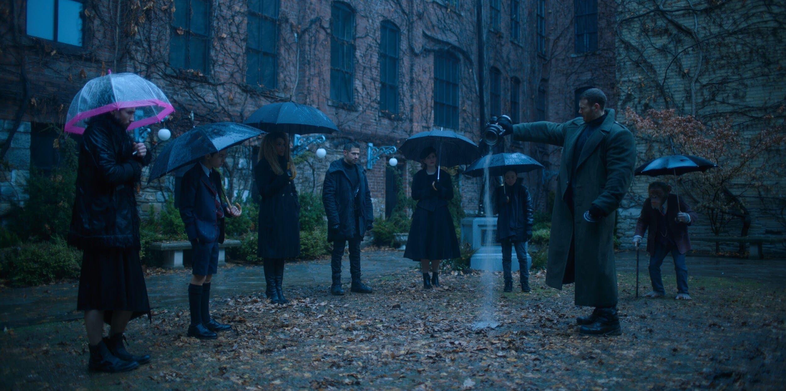 umbrella academy hargreeves