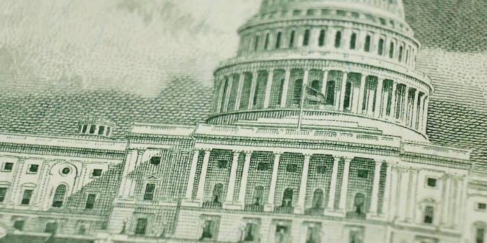 us capitol building 50 dollar bill
