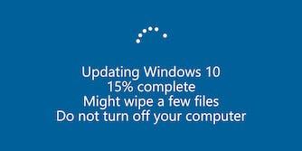 win10 update bug deletes files