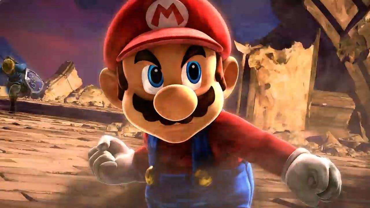 Mario in Super Smash Bros. Ultimate