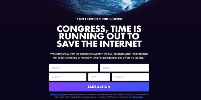 Net Neutrality CRA Deadline Day Of Action