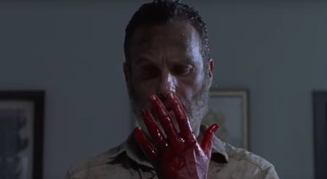 andrew lincoln rick grimes goodbye