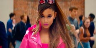 Ariana Grande just got an Eevee tattoo.